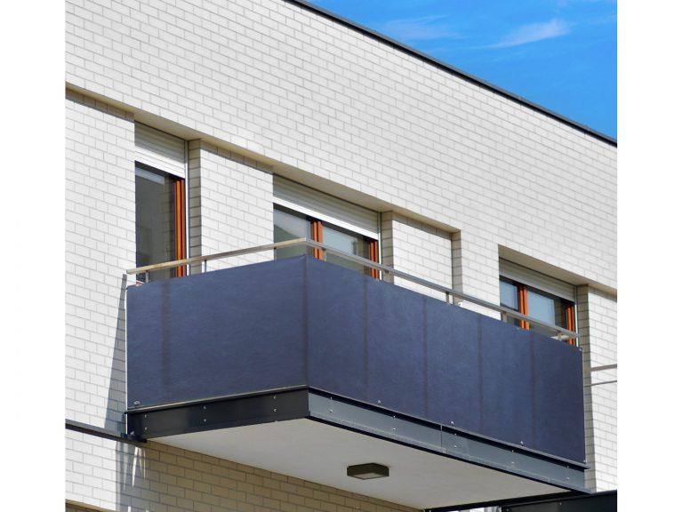 Po co zasłania się balkony?